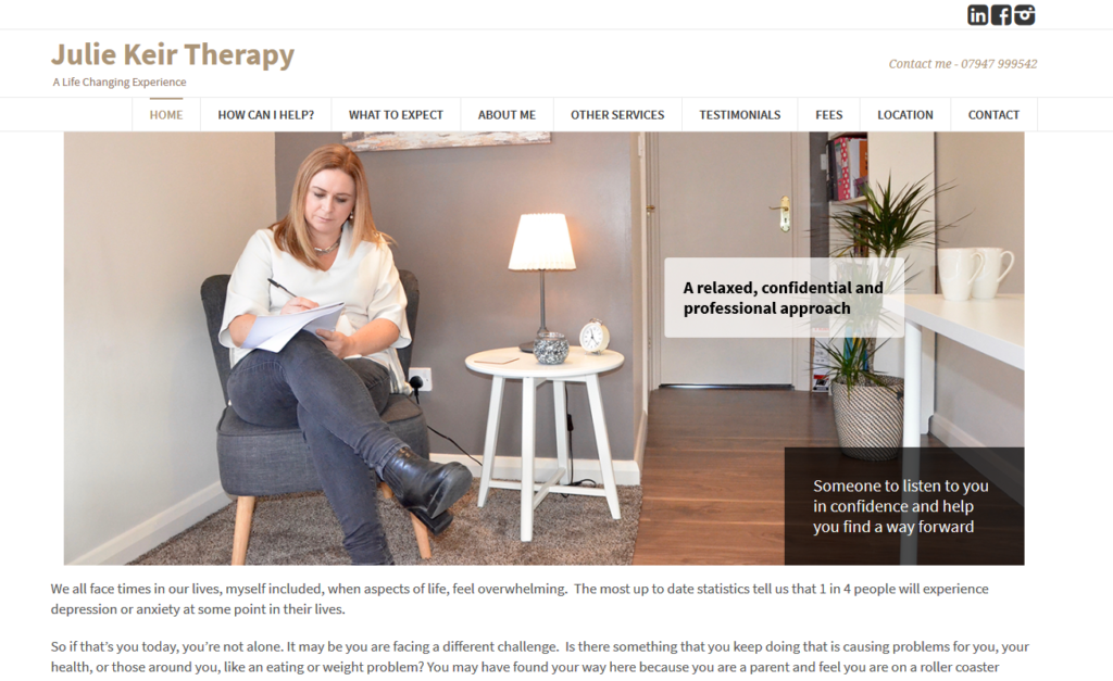 julie Keir Therapy Services